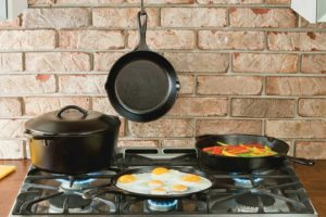 Lodge Seasoned Cast Iron 5-Piece Bundle