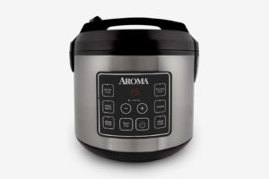 Aroma Housewares 20 Cup Cooked Digital Rice Cooker, Slow Cooker, Food Steamer