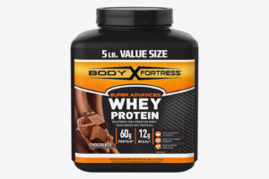 Body Fortress Super Advanced Whey Protein Powder, Chocolate