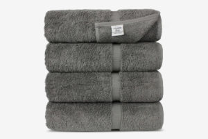 Chakir Turkish Cotton Luxury Hotel & Spa Bath Towel — Set of 4