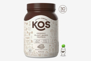 KOS Organic Plant Based Protein Powder – Raw Organic Vegan Protein Blend, Chocolate