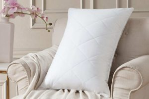 L Lovsoul Goose Feather Bed Pillow