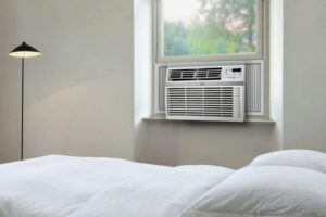 LG Window-Mounted Air Conditioner With Remote Control, 12,000 BTU