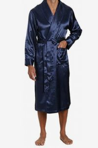 Noble Mount Men's Premium Satin Robe