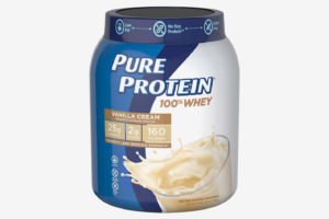 Pure Protein 100% Whey Powder, Vanilla Cream