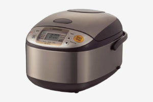 Zojirushi NS-TSC10 5-12-Cup (Uncooked) Micom Rice Cooker and Warmer, 1.0-Liter